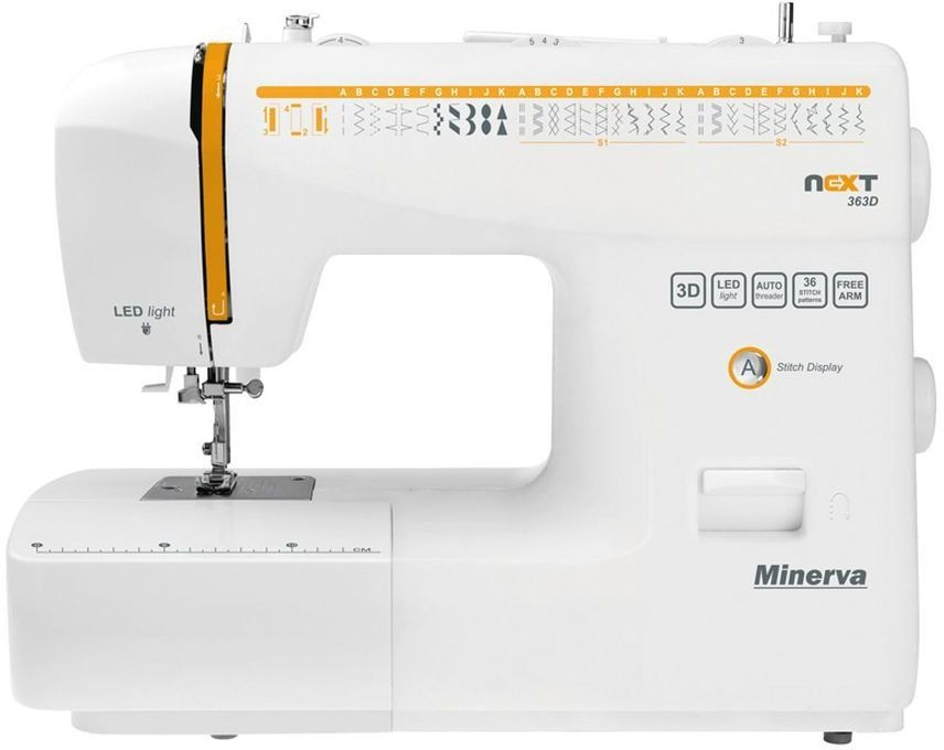 Maszyna do szycia Minerva Next 363D 1