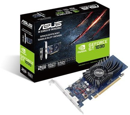 Karta graficzna Asus GeForce GT 1030 Low Profile 2GB GDDR5 (GT1030-2G-BRK) 1