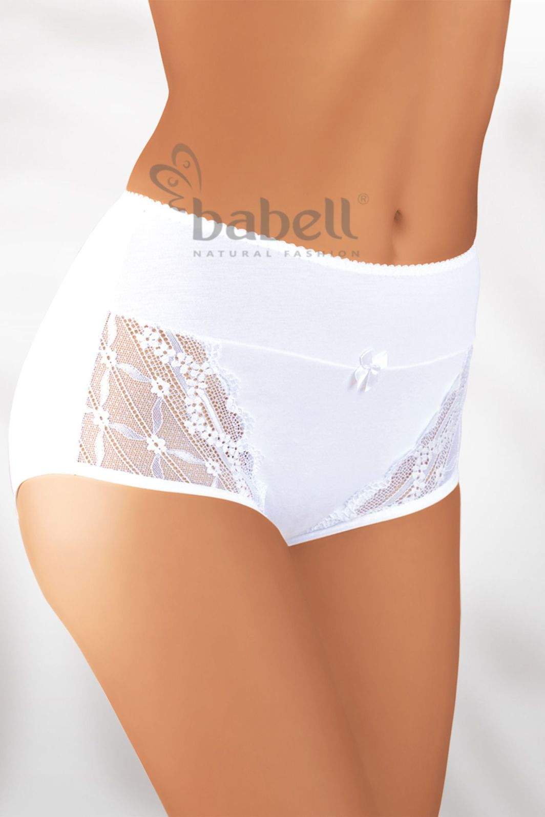 Babell Figi damskie BBL-003 białe r. S 1