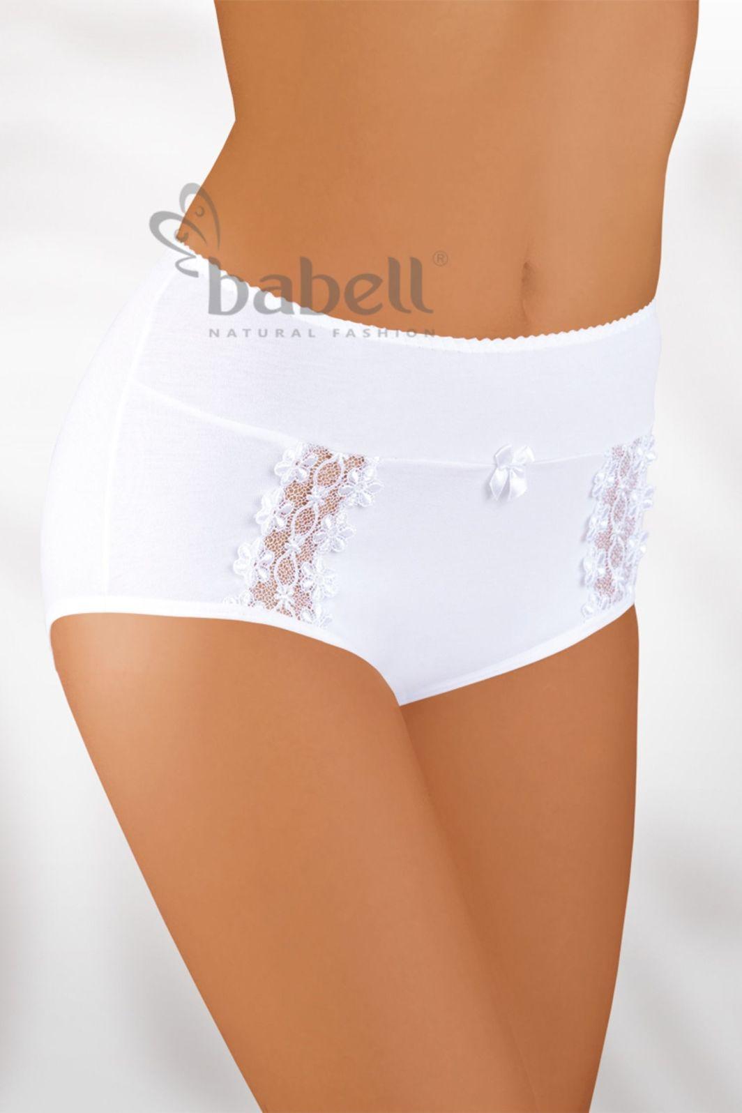 Babell Figi damskie BBL-005 plus białe r. 4XL 1