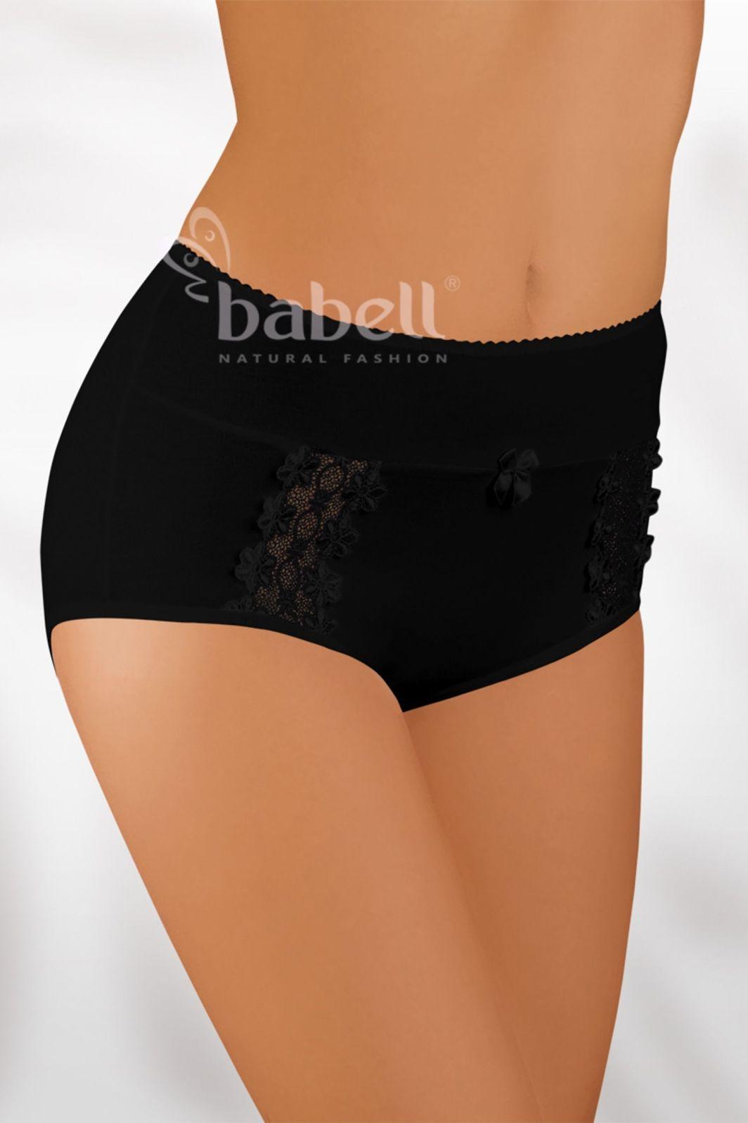 Babell Figi damskie BBL-005 plus czarne r. 3XL 1
