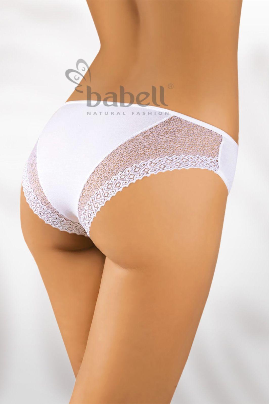 Babell Figi damskie BBL-012 białe r. S 1