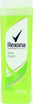Rexona  Żel pod prysznic Rexona Aloe Fresh 400 ml 1