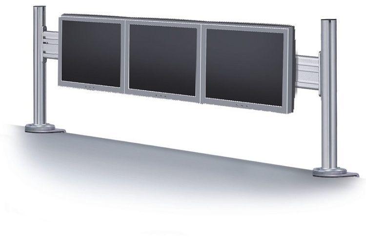 """Newstar Uchwyt biurkowy na 3 monitory 10"""" - 24"""" (FPMA-DTB100) 1"""