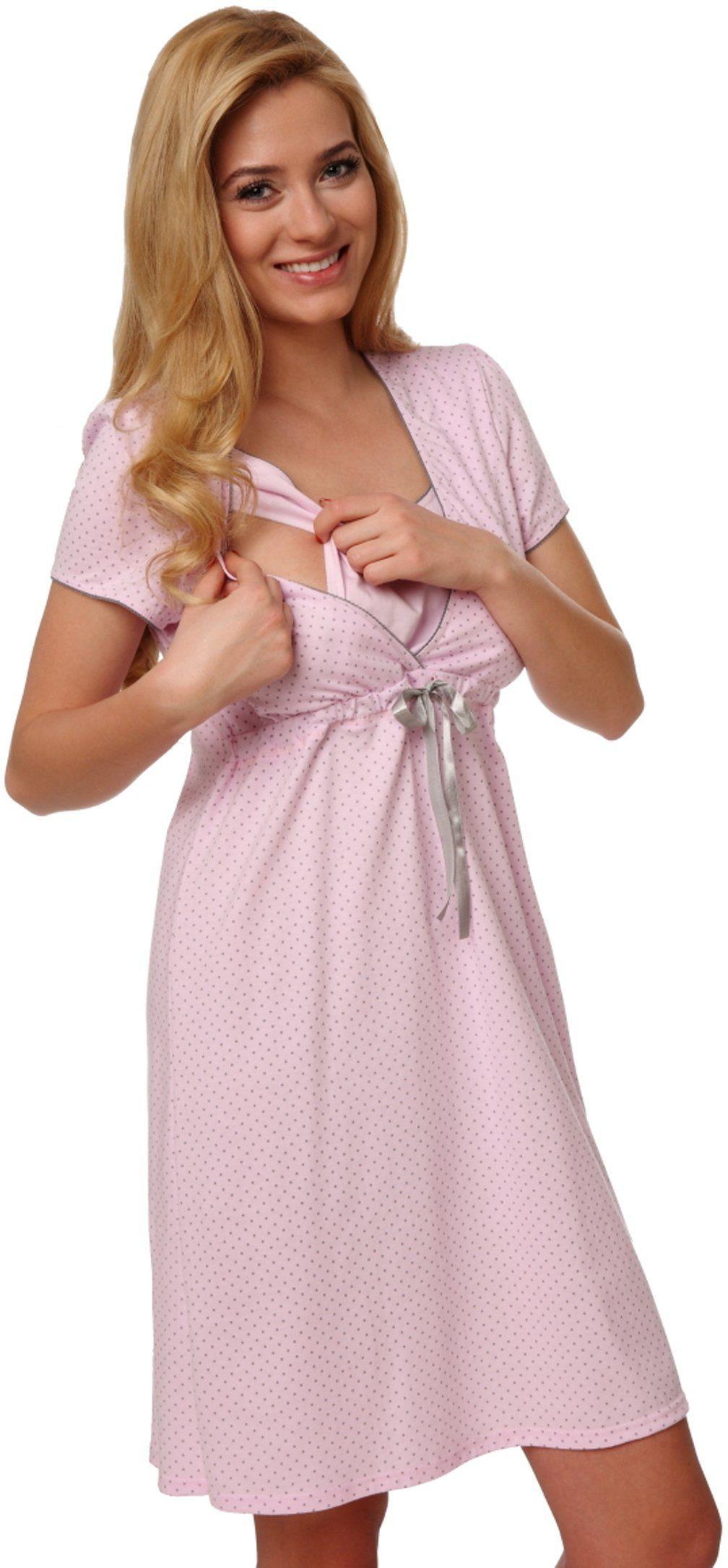 Italian fashion Koszula nocna Felicita różowa r. S 1