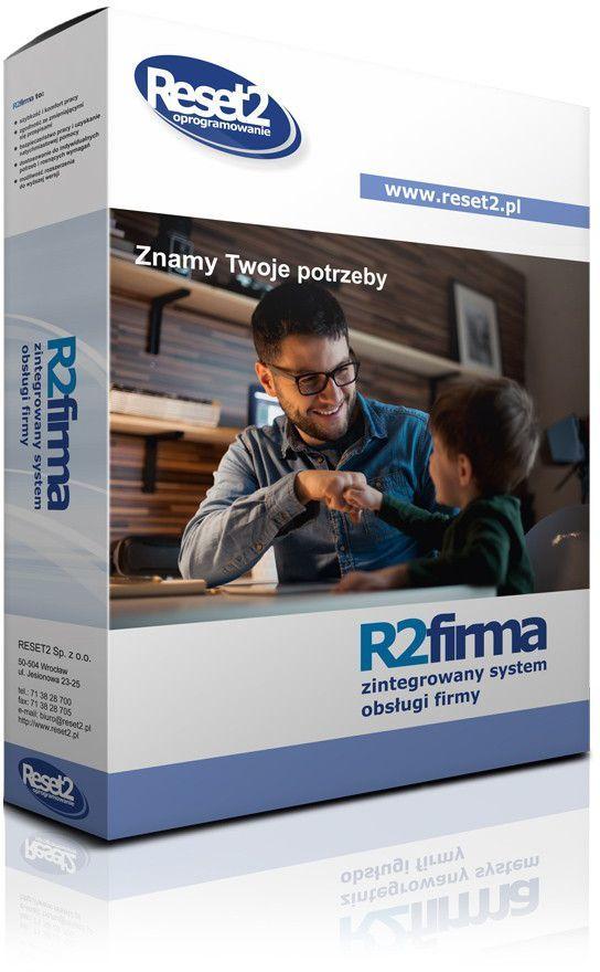 Program Reset2 R2firma Standard - księga/faktury/magazyn/3firmy/1st (ZCBAC4) 1