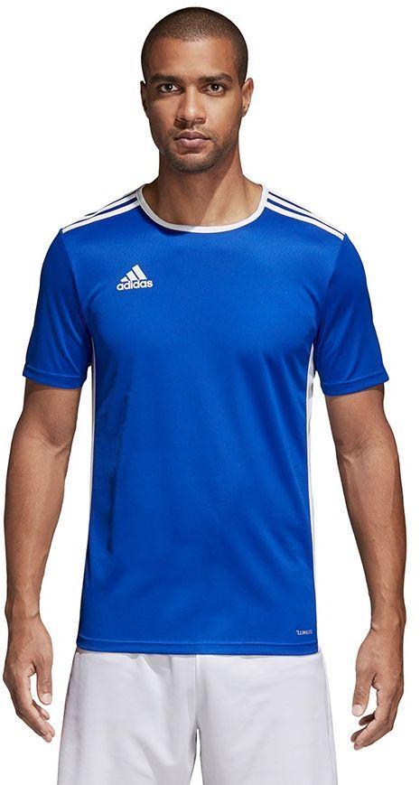 Adidas Koszulka piłkarska Entrada 18 niebieska r. M (CF1037) 1