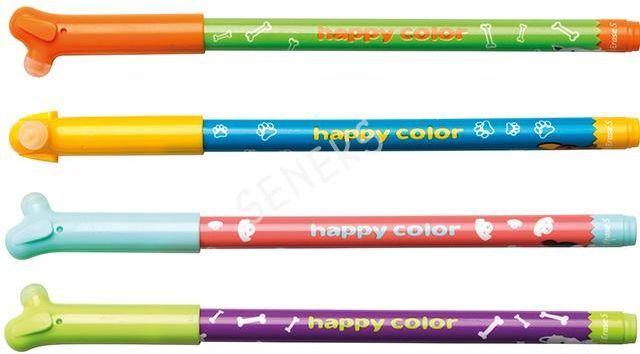 Happy Color Długopis wymazywalny 0,5mm (HA AKPB3171-3) 1