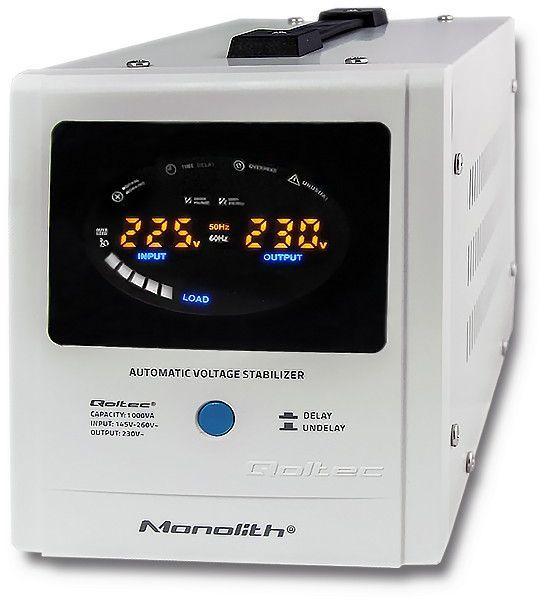 Qoltec Automatyczny stabilizator napięcia AVR | 1000VA (53894) 1