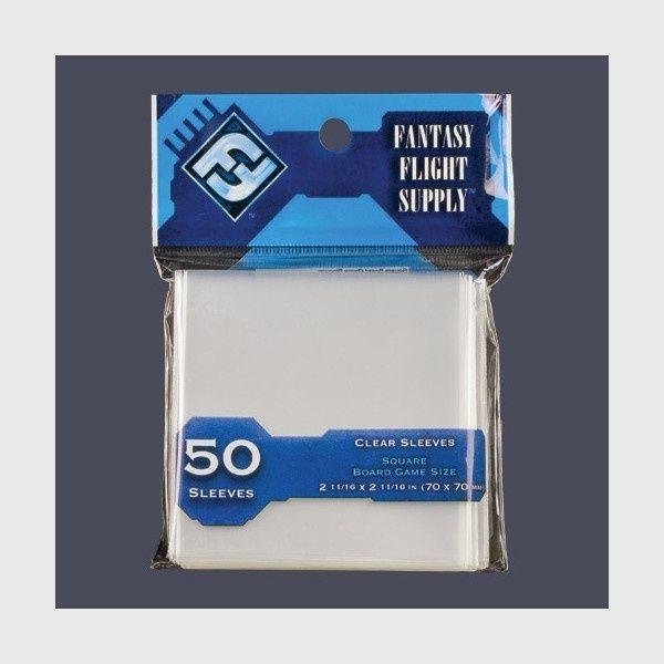 Fantasy Flight Games Card Sleeves Square Standard 50 (70x70mm) 1
