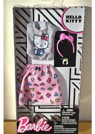 Mattel Barbie modne ubranka Hello Kitty 1 1