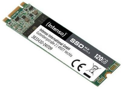 Dysk SSD Intenso 120 GB M.2 2280 SATA III (3833430) 1