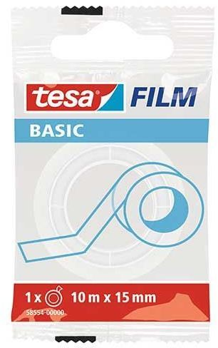Tesa ma biurowa basic invisible 10m x 15mm (58554-00000-00 TS) 1