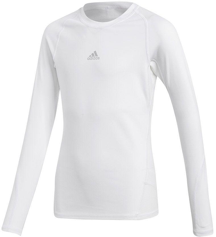 Adidas Koszulka juniorska ASK LS TEE Y biała r. 152 cm (CW7325) ID produktu: 1740454