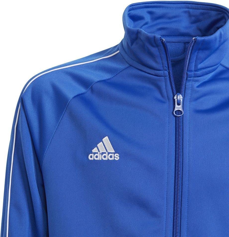 Adidas Bluza piłkarska CORE 18 PES JKTY niebieska r. 164 cm (CV3578) ID produktu: 1740474