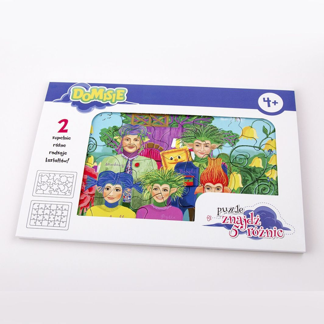 Felico Domisie Puzzle Znajdz 5 Roznic Dla Kogo Gra 267260