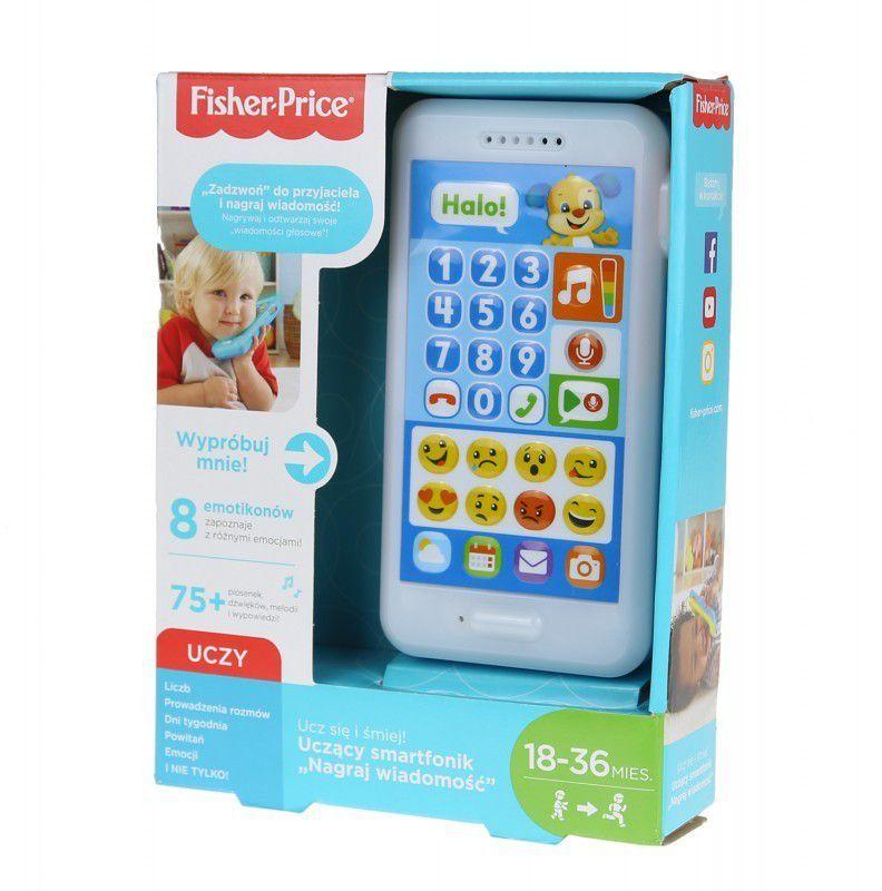 Fisher Price Fisher Price Uczący Smartfonik (FPR18) 1