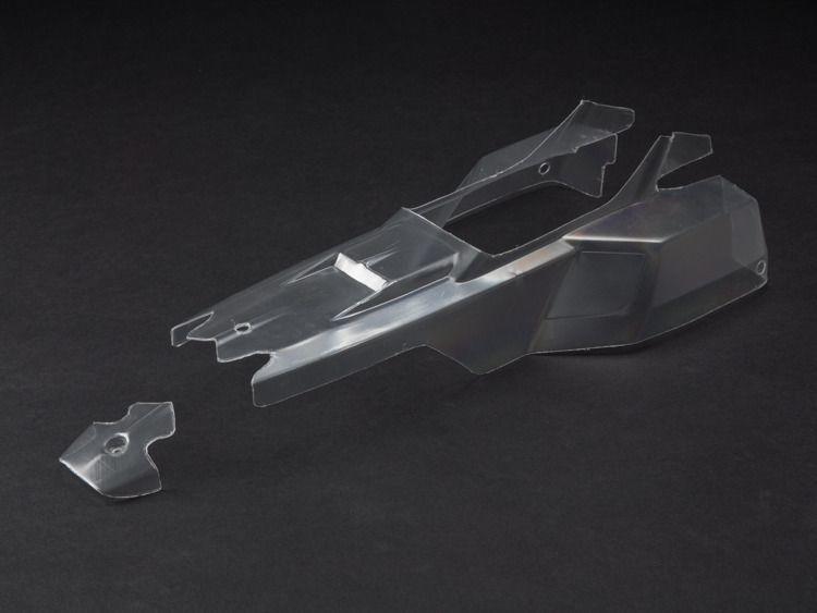 ARRMA Bezbarwna karoseria RAIDER XL (AR402119) 1