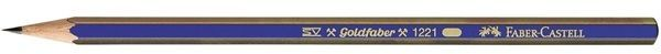 Faber-Castell Ołówek Gold Faber 1221/F Faber-Castell (112510 FC) 1