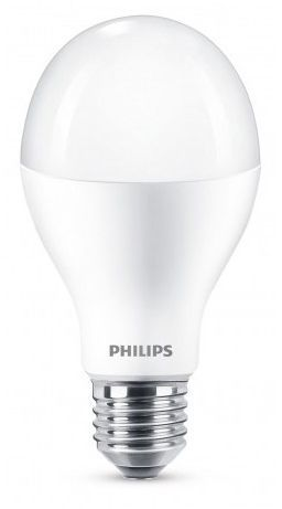 Philips LED Bulb, 150W, E27, WW 230V, A80 FR 1PF/6 1
