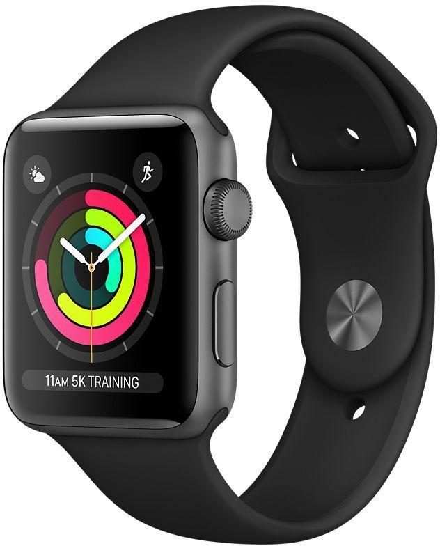 Smartwatch Apple Watch Series 3 Czarny  (mqkv2cn/a) 1