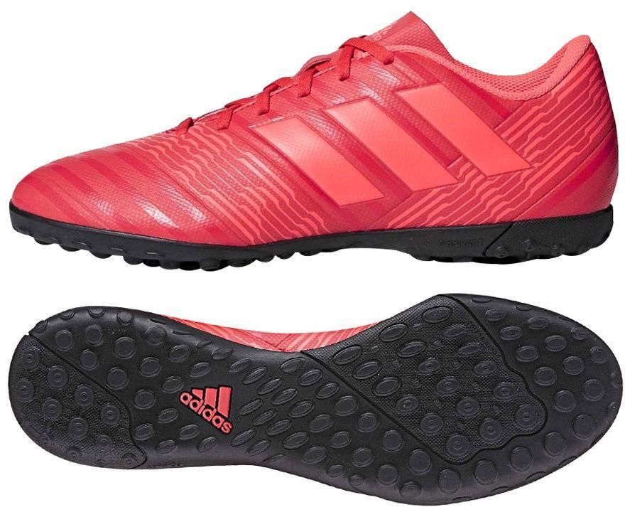 Adidas Buty piłkarskie Nemeziz Tango 17.4 TF czerwone r. 44 (CP9060) ID produktu: 1749148
