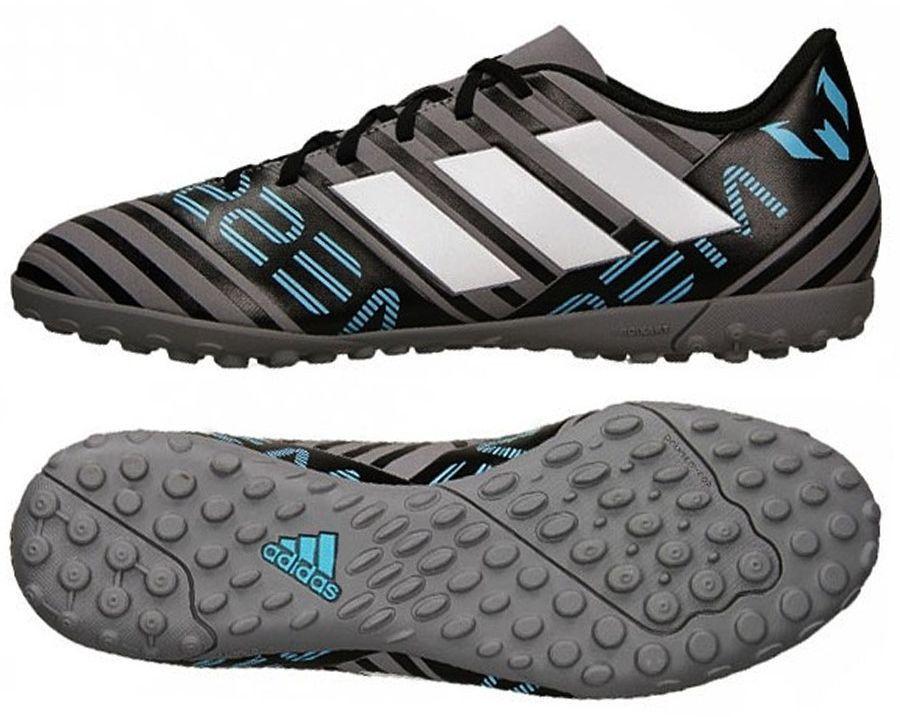najnowszy najnowszy projekt taniej Adidas Buty piłkarskie Nemeziz Messi Tango TF szare r. 42 (CP9071) ID  produktu: 1749175