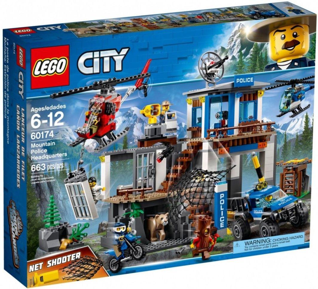 Lego City Górski Posterunek Policji 60174 W Hulahoppl