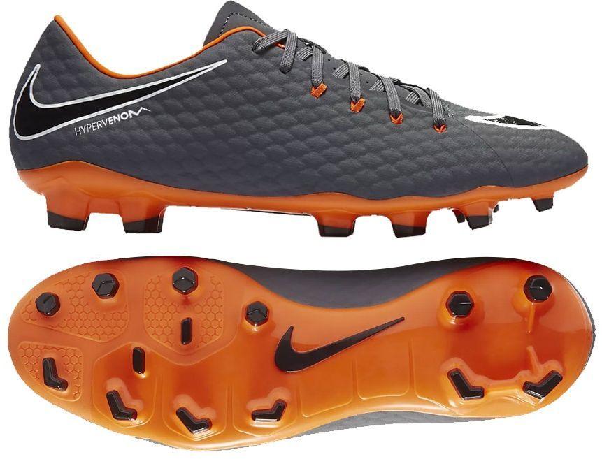 Nike Buty piłkarskie Hypervenom Phantom 3 Academy FG szare r. 41 (AH7271 081) ID produktu: 1751212