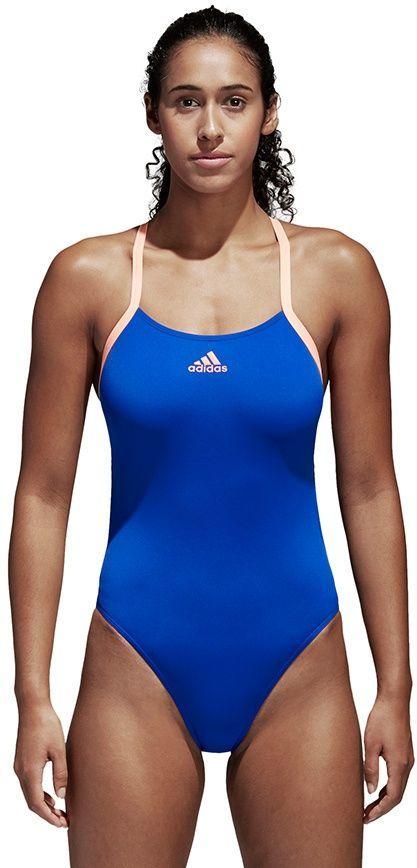 Adidas Kostium damski Pefr Swim Inf + niebieski r. 42 (CV3649) ID produktu: 1751500