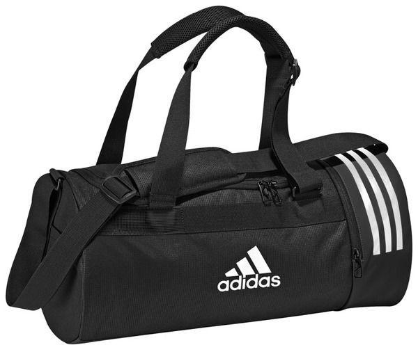 f36d340f41c56 Adidas Adidas Torba Convertible 3 Stripes Duffel Bag Small Black w  Sklep-presto.pl