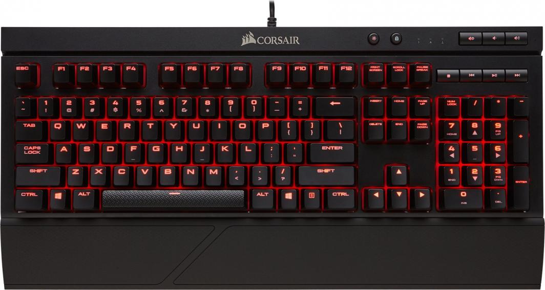 Klawiatura Corsair K68 Red Led (CH-9102020-NA) 1