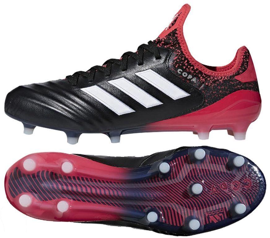 best sneakers 97160 d1252 Adidas Buty piłkarskie Copa 18.1 FG czarno-czerwone r. 42 (CM7663)