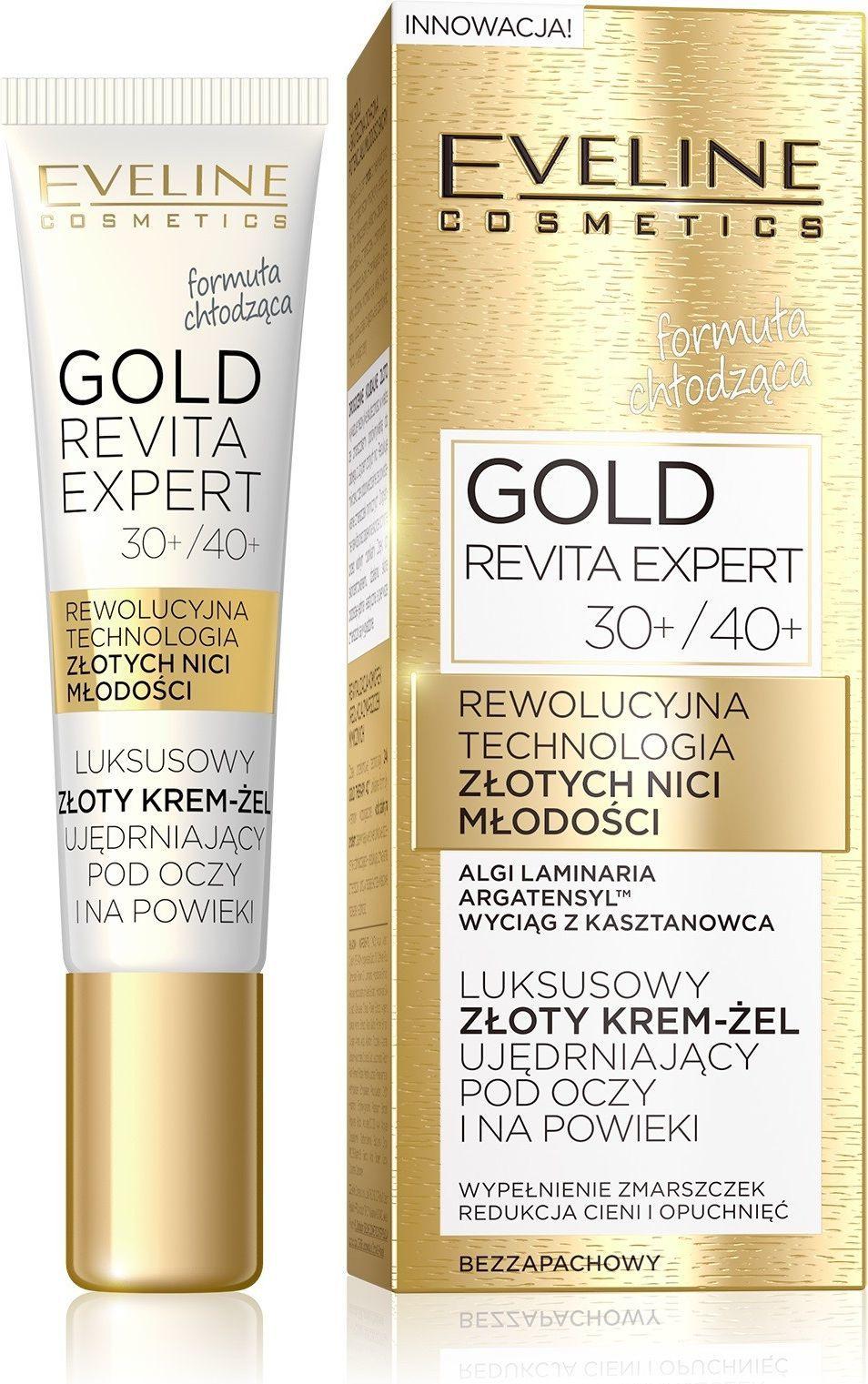 Eveline Krem pod oczy Gold Revita Expert ujędrniający 15ml 1