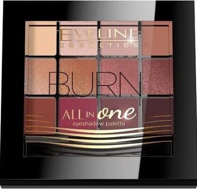 Eveline Paleta cieni 03 All in One Burn 1