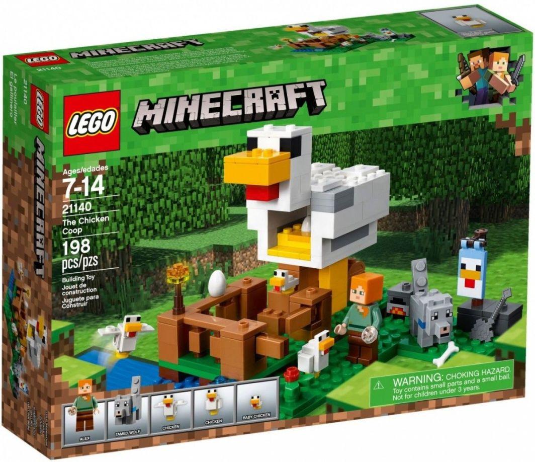 44f82fdcd LEGO MINECRAFT Kurnik (21140) w Hulahop.pl