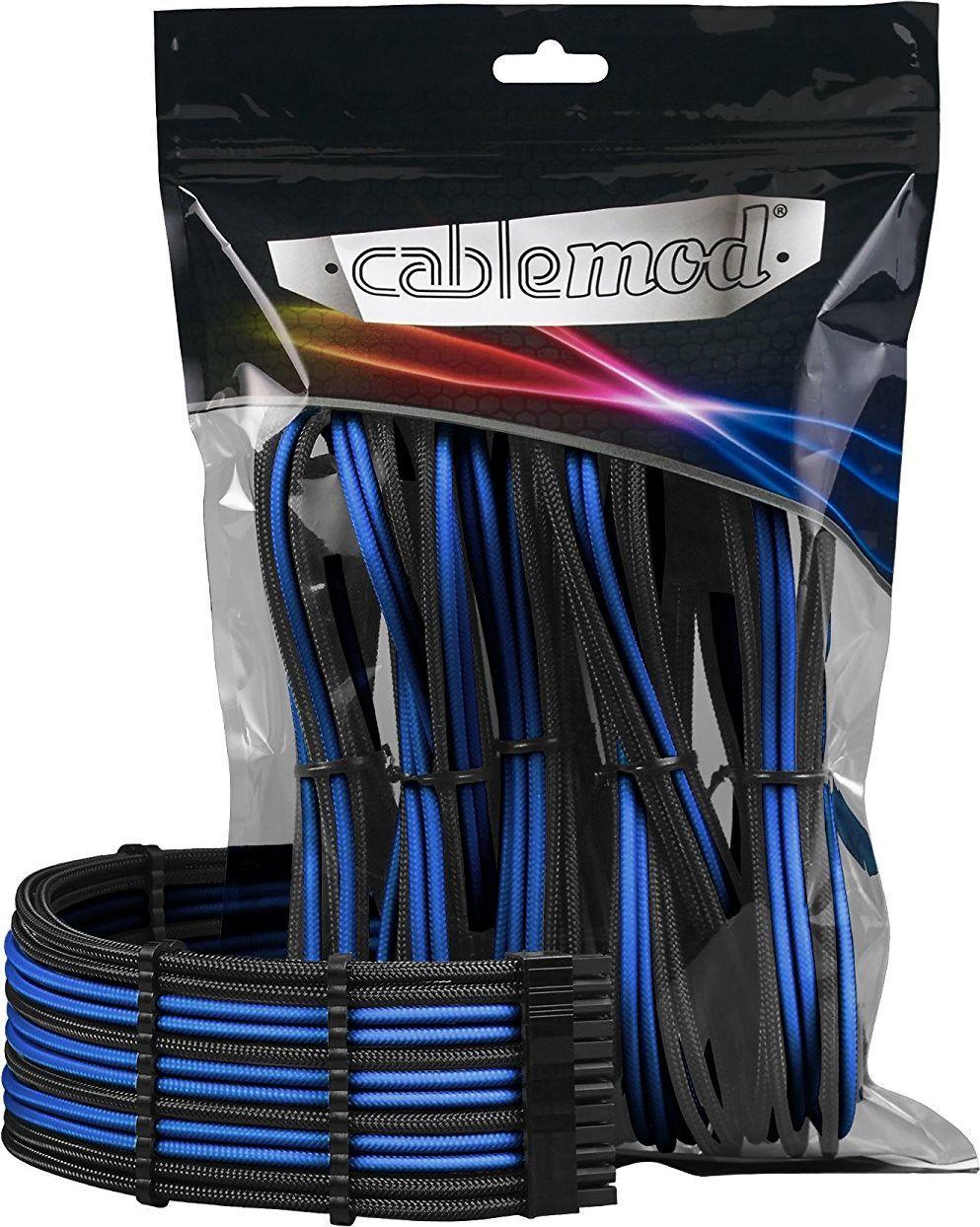 CableMod CableMod PRO Extension Kit black/blue - ModMesh - CM-PCAB-BKIT-NKKB-3P 1