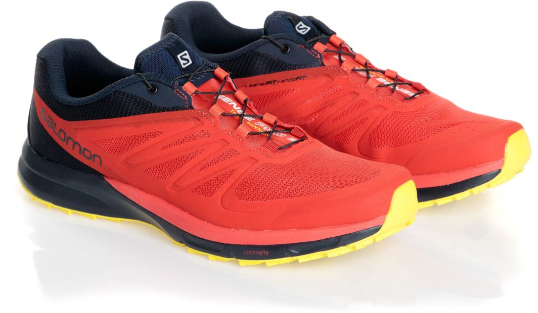 Salomon Buty męskie Sense Pro 2 Fiery Red/Night Sky/Sulphur Spring r. 42 2/3 (402379) 1