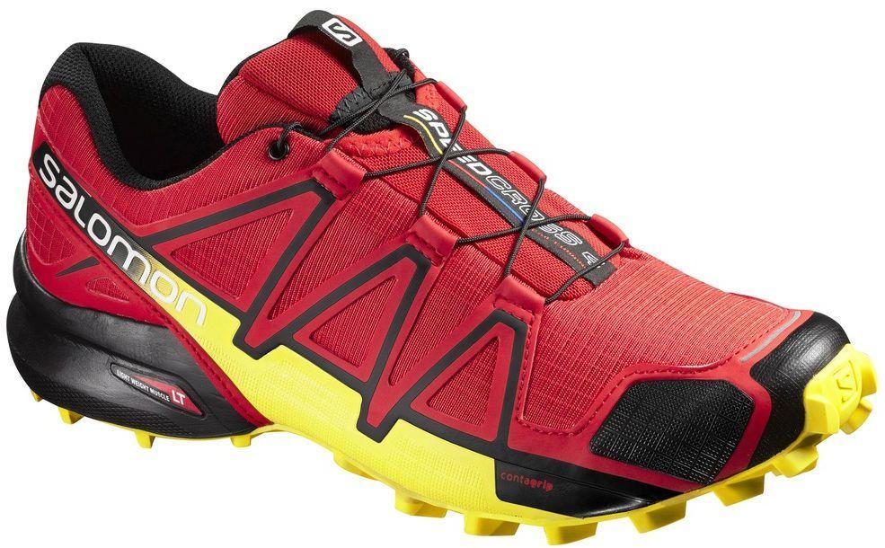 Salomon Buty męskie Speedcross 4 czerwono żółte r. 42 (381154) ID produktu: 1765237