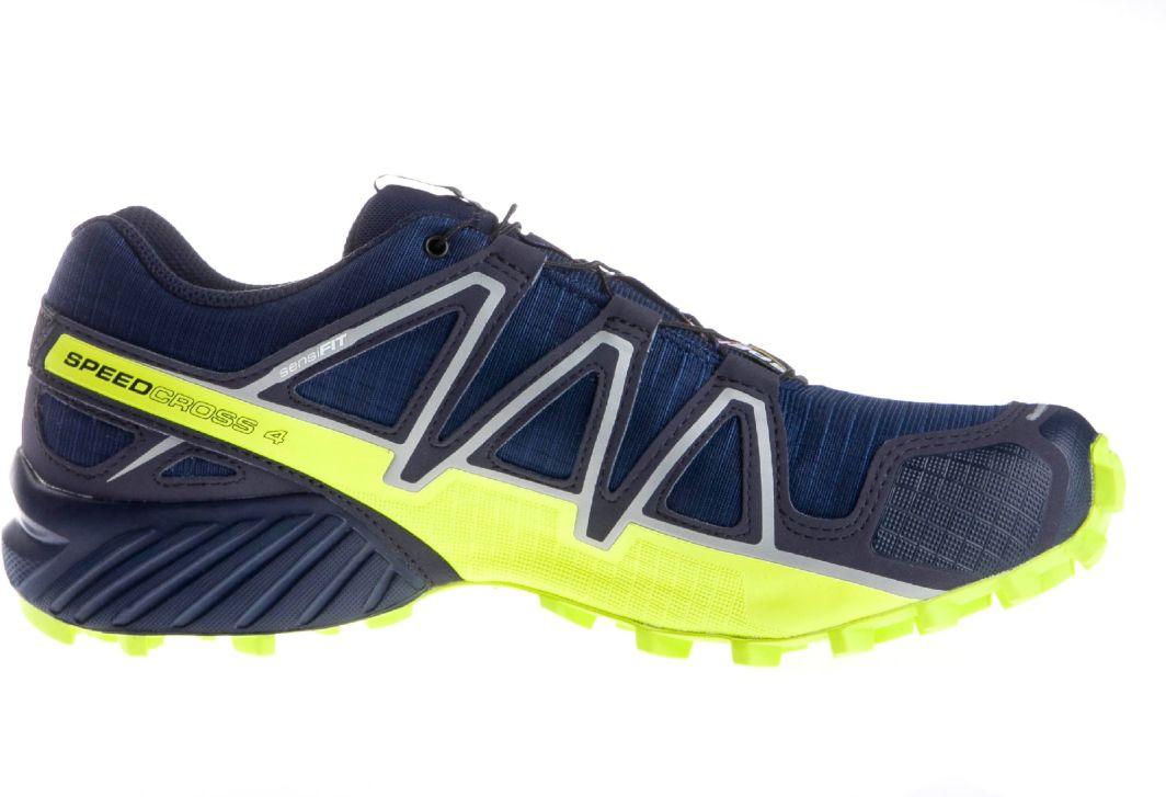 Salomon Buty męskie Speedcross 4 GTX Medieval blueAcid limeGraphite r. 46 (400938) ID produktu: 1765245