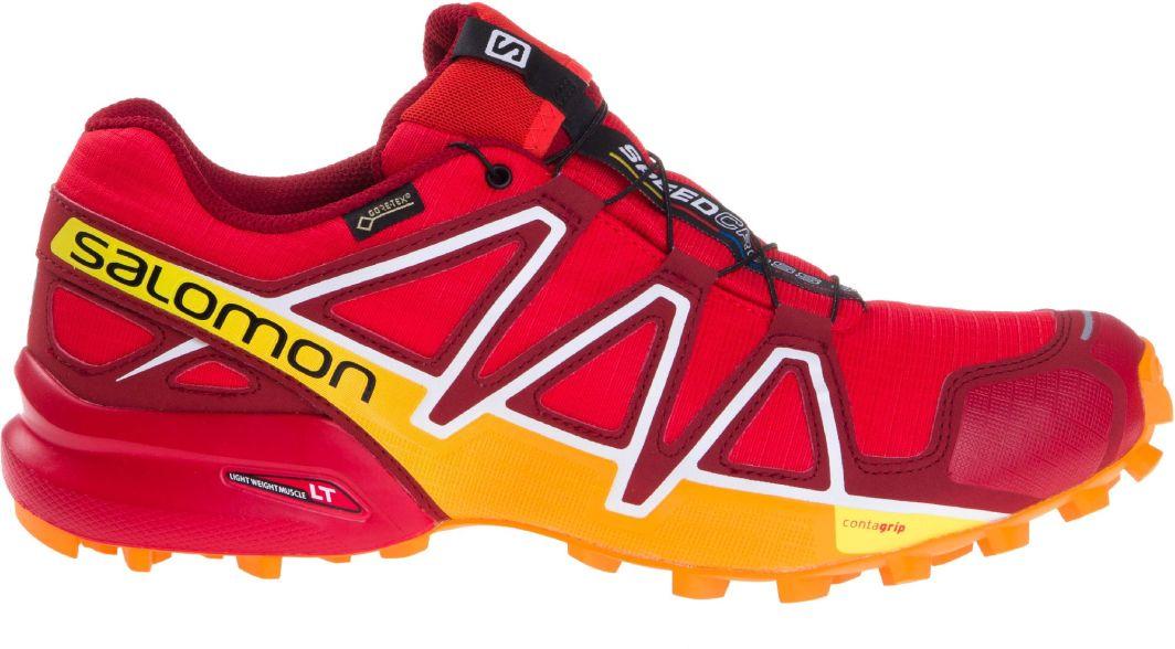 Buty SALOMON Speedcross 4 Gtx GORE TEX 400932 27 G0 Fiery