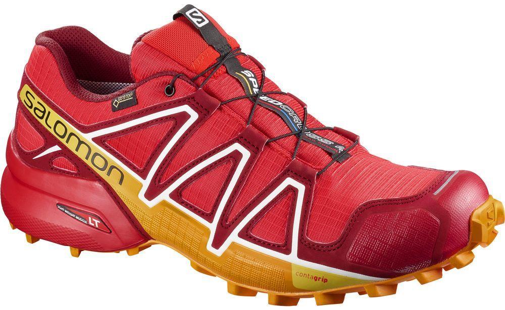 Salomon Buty męskie Speedcross 4 GTX Fiery RedRed DahliaBright Marigold r. 42 23 (400932) ID produktu: 1765260