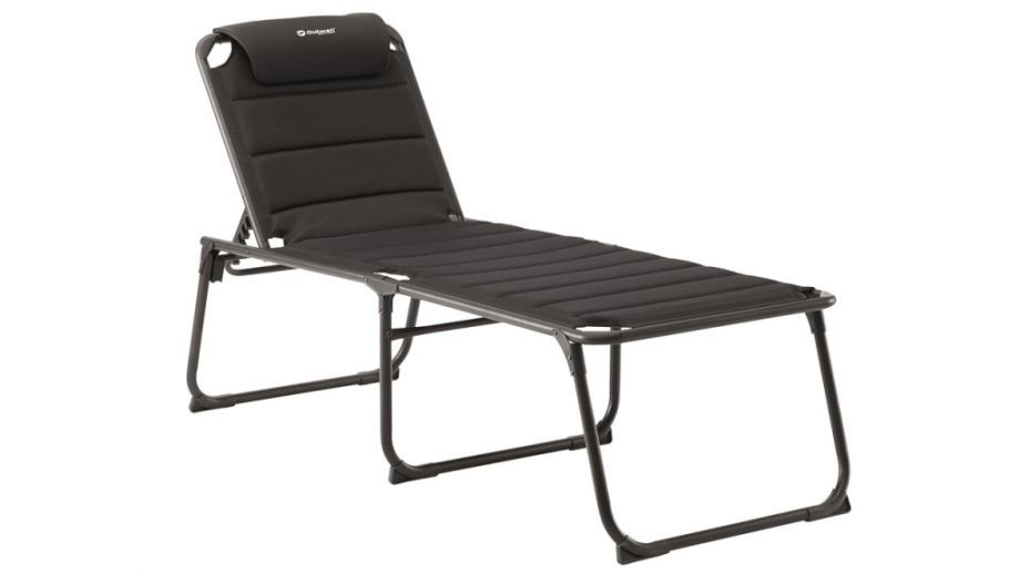 Outwell łóżko Polowe Samoa Deck Chair Black Id Produktu 1766313