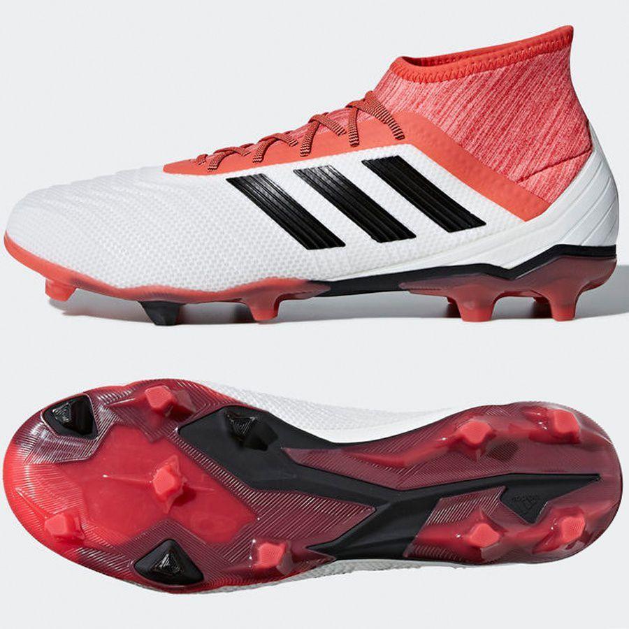new product 7933e 15f28 Adidas Buty piłkarskie Predator 18.2 FG białe r. 42 (CM7666) w  Sklep-presto.pl