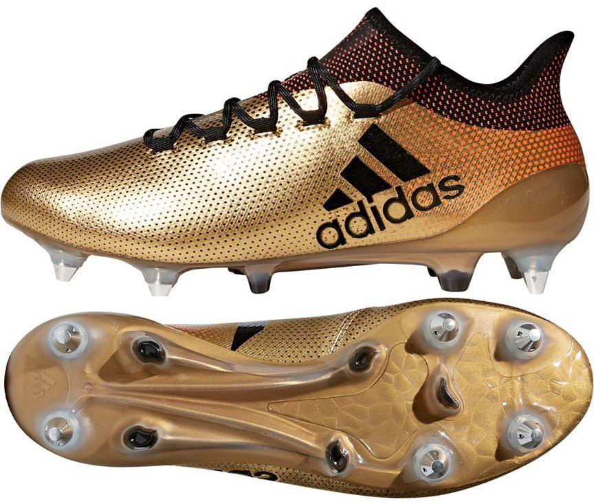 Adidas Buty piłkarskie X 17.1 SG złote r. 41 13 (CP9170) ID produktu: 1766725