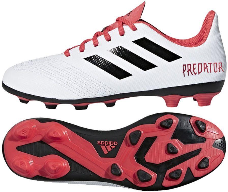 Adidas Buty Piłkarskie Predator 18.4 FxG Biały r. 34 (CP9241) ID produktu: 1768452