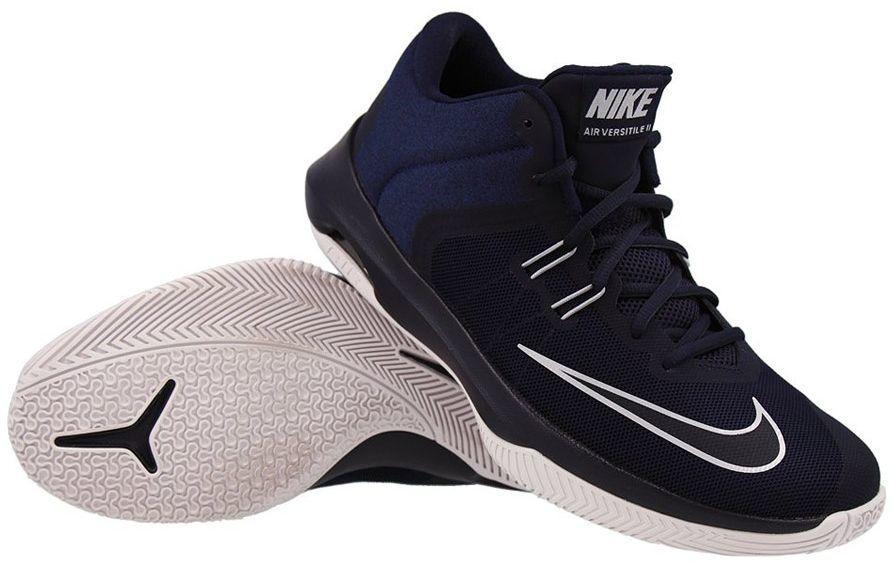 Nike Buty męskie Zoom Evidence III niebiesko czarne r. 47.5