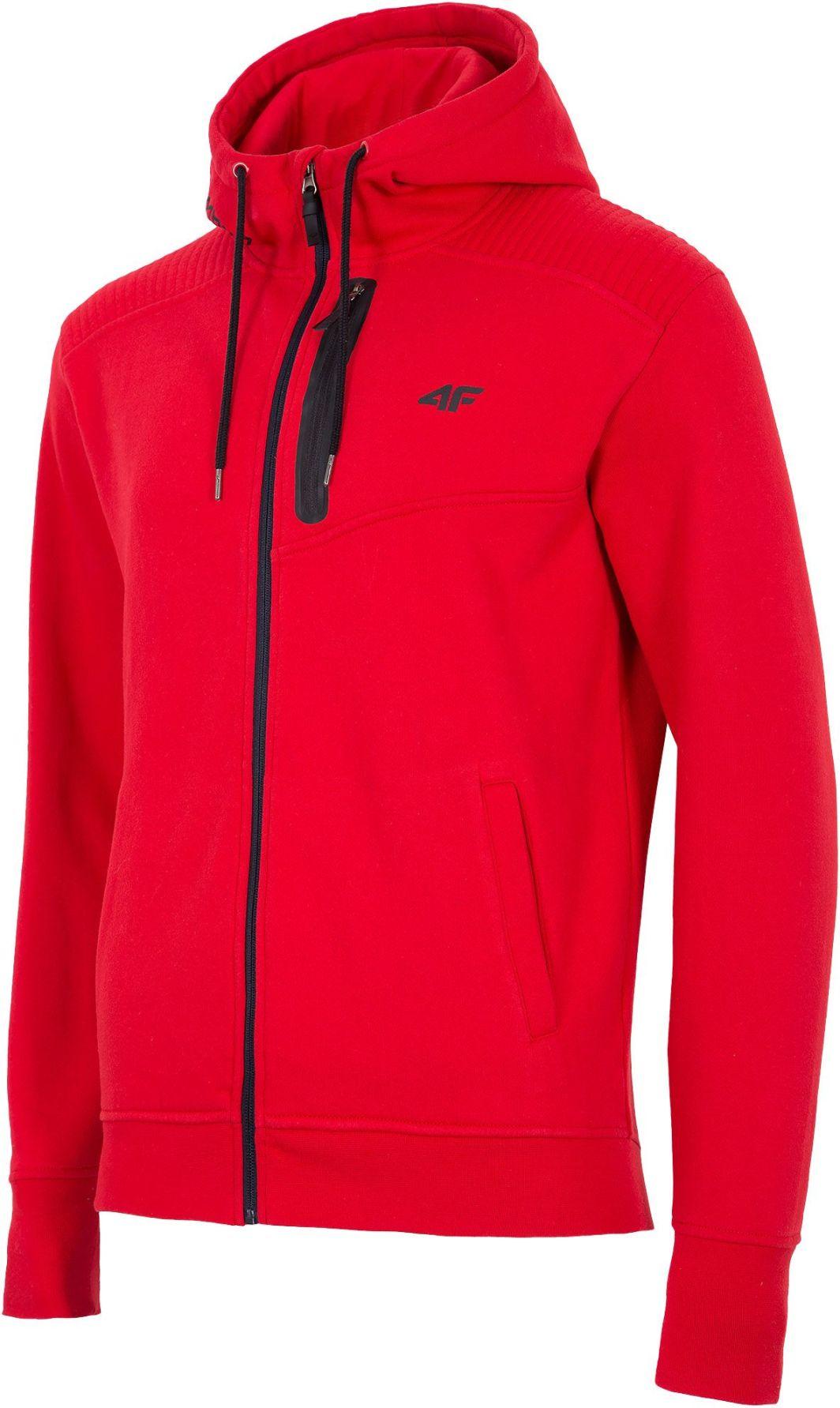 4f Bluza męska H4L18 BLM006 czerwona r. XXL ID produktu: 1768571