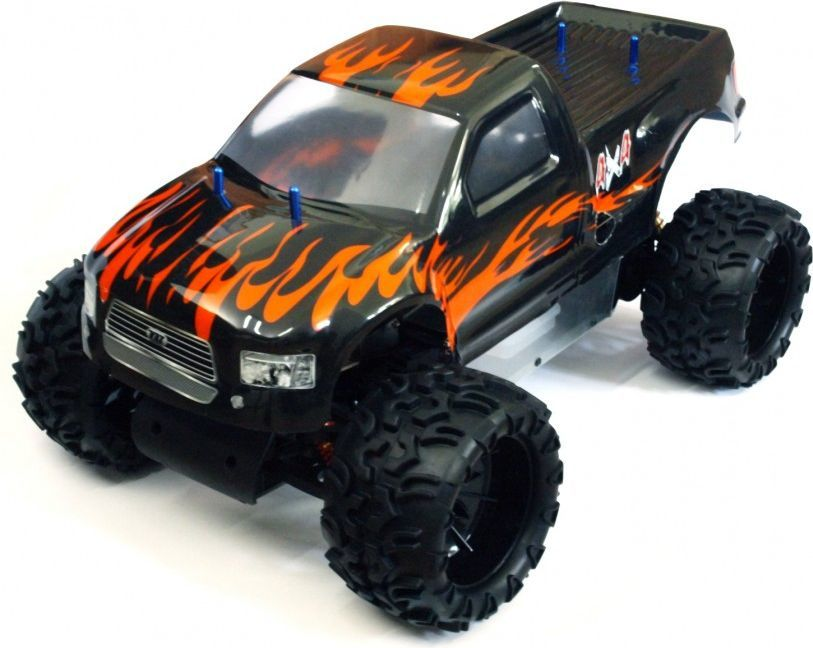 VRX Racing Samochód RC Monster Truck Blaze 1:5 czarno-pomarańczowy (VRX/RH502MT) 1