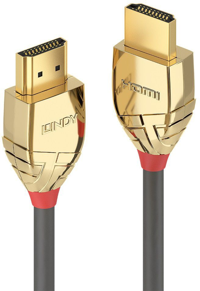 Kabel Lindy HDMI - HDMI 3m złoty (37863) 1